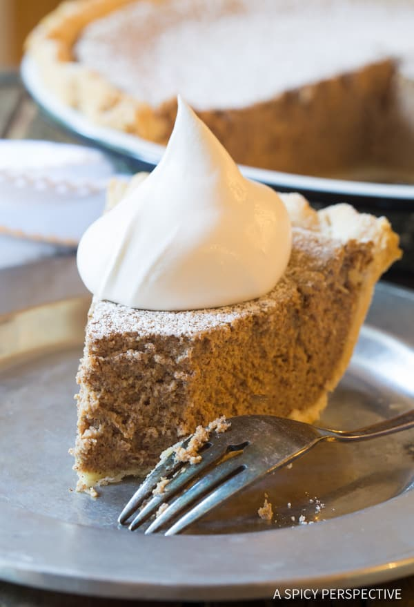 Easy Cinnamon Pie Recipe   ASpicyPerspective.com