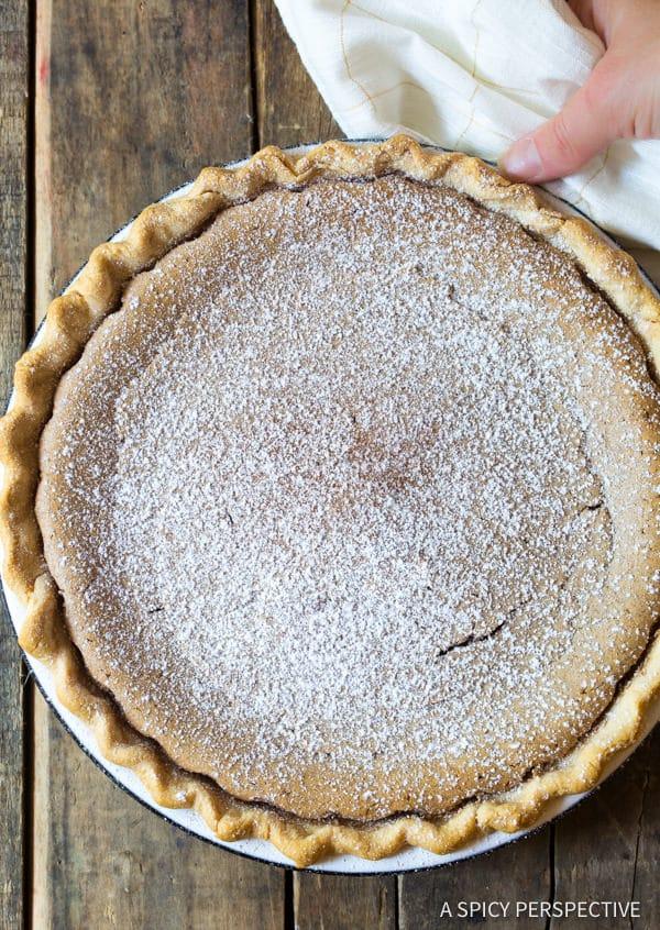 Heavenly Cinnamon Pie Recipe   ASpicyPerspective.com