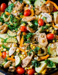 Fabulous Low Carb Market Chicken Skillet #healthy