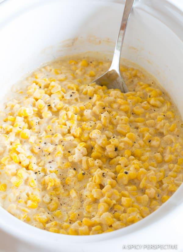 Creamed Corn #ASpicyPerspective