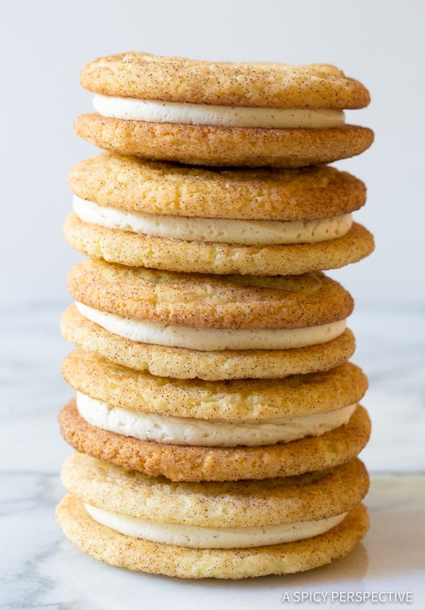 Snickerdoodle Whoopie Pie Recipe