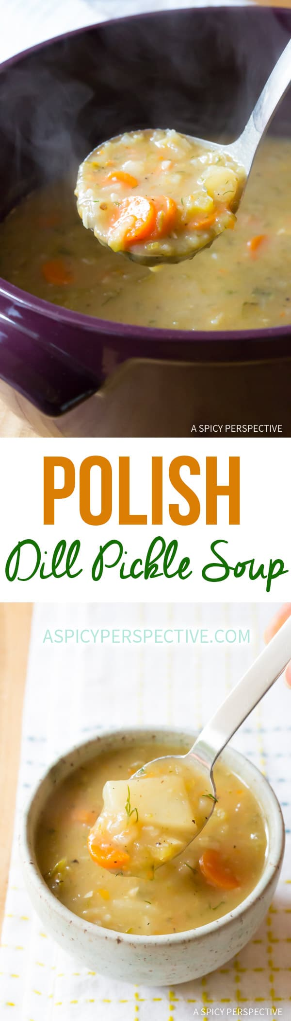 Polish Dill Pickle Soup (AKA Polish Potato Soup)