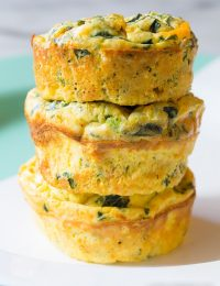 Spinach Scramble Egg Muffins Recipe (Low Carb and Gluten Free!)