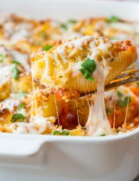 Chicken Parmesan Stuffed Shells Recipe