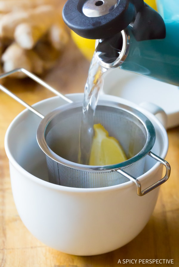 Powerful Lemon Ginger Detox Tea Recipe