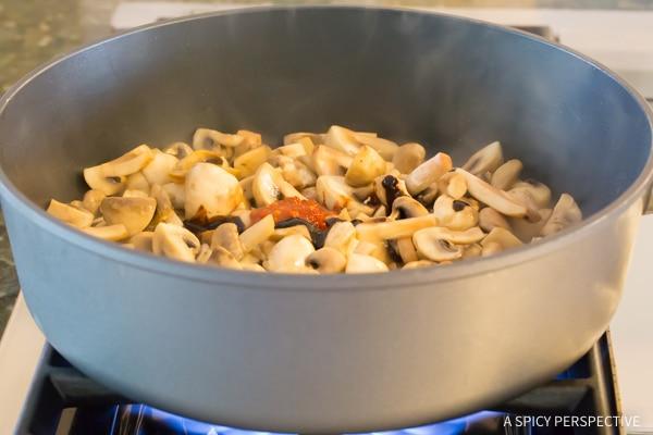 Stir Fry Ingredients #ASpicyPerspective #Mushrooms #StirFry #MushroomStirFry #AsianMushroom #Asian #SideDish #Vegetarian #Healthy #LowCarb #LowFat