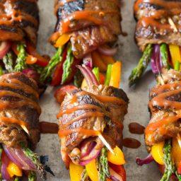 Low Carb Steak Fajita Roll-Ups #healthy
