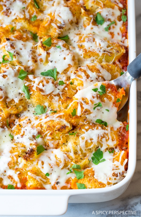 Amazing Chicken Parmesan Stuffed Shells Recipe