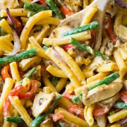 Grilled Chicken Rasta Pasta Recipe