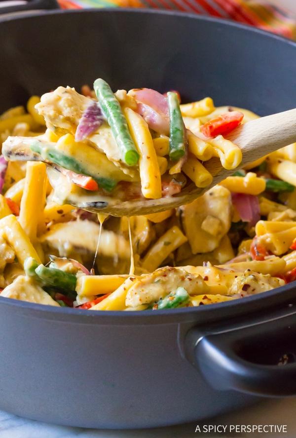 Creamy Grilled Chicken Rasta Pasta Recipe