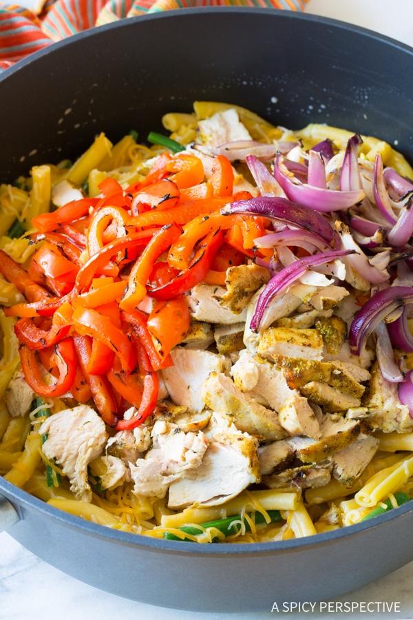 Must-Make Grilled Chicken Rasta Pasta Recipe