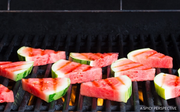 How to Make Grilled Fruit Salad with Creamy Lime Dressing Recipe