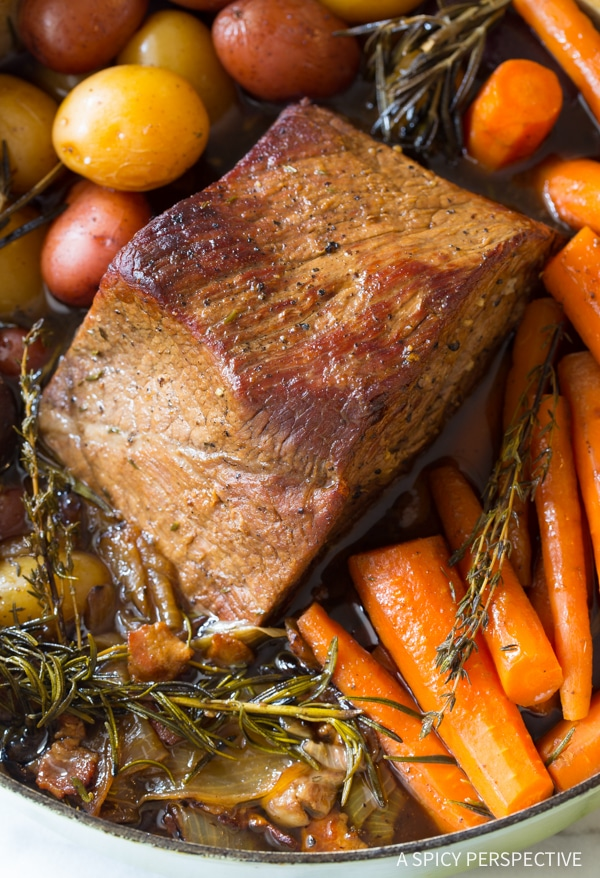 Mom's Best Beef Pot Roast Dinner Recipe