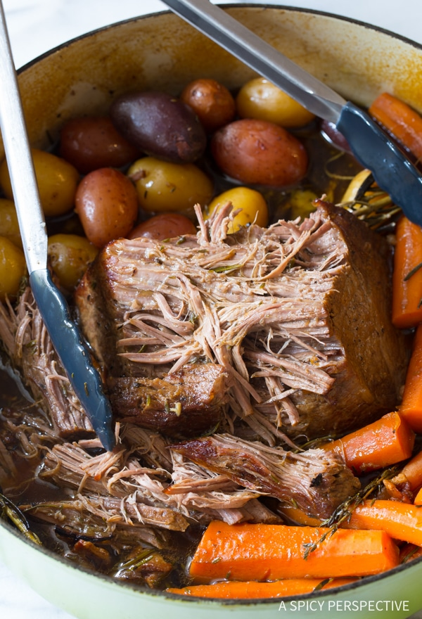 Our Mom's Best Beef Pot Roast Dinner Recipe (Slow Cooker Friendly!)