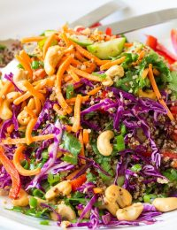 Thai Quinoa Salad Recipe - Healthy!
