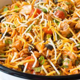 Cool Chicken Taco Pasta Salad Recipe #best #mexican #summer