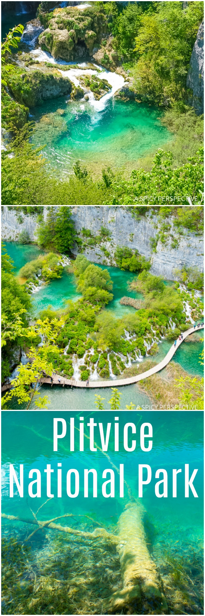 Awe-Inspiring Plitvice Lakes National Parks in Croatia - Must See! #travel