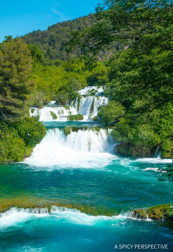 Krka Plitvice Lakes National Parks in Croatia - Must See! #travel