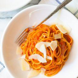 Roasted Red Pepper Marinara Recipe (Vegan, Gluten Free & Delicious!)