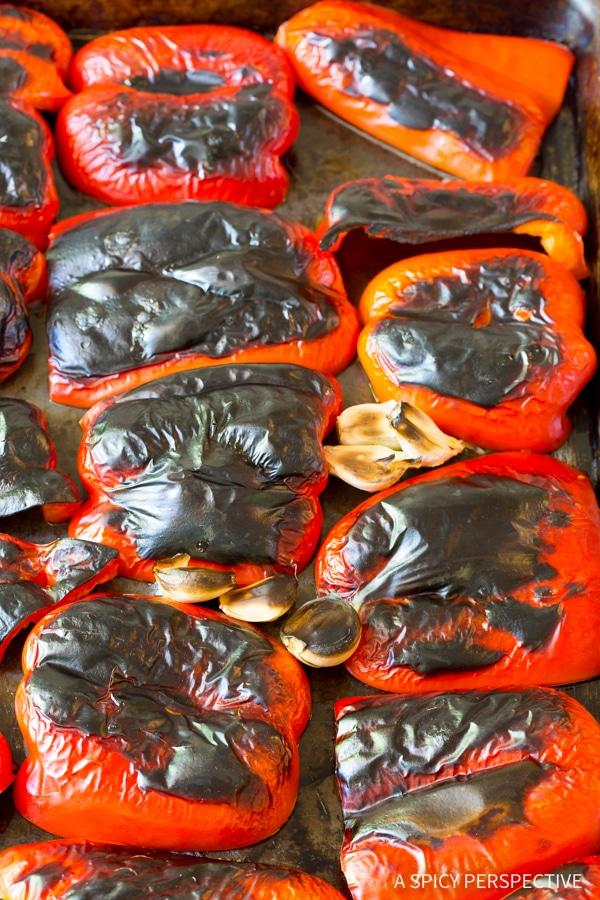 How to Make Roasted Red Pepper Marinara Recipe (Vegan, Gluten Free & Delicious!)