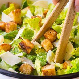 The Best Steakhouse Caesar Salad Recipe
