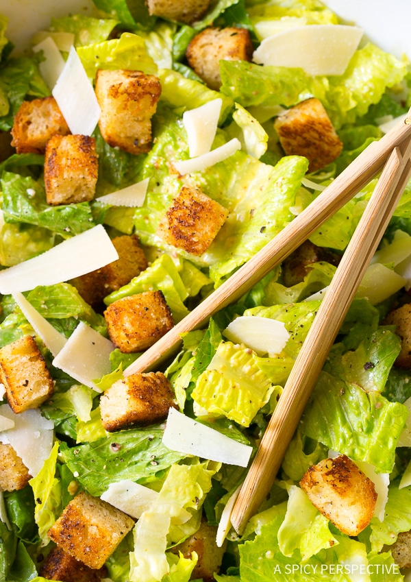 Best Steakhouse Caesar Salad Recipe