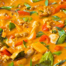 The Best Thai Panang Chicken Curry Recipe