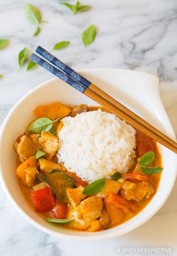 The Best Thai Red Chicken Curry Recipe