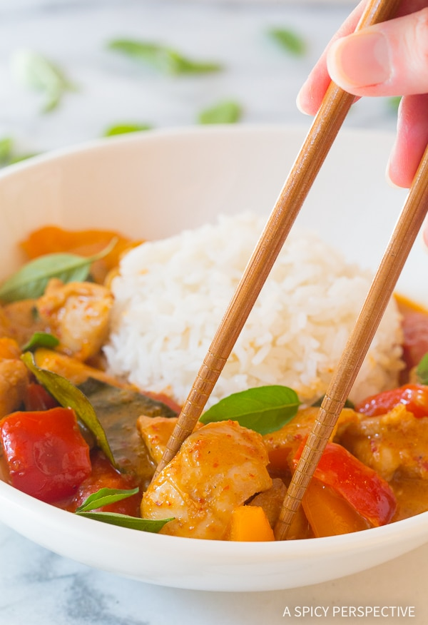Thai Panang Chicken Curry Recipe