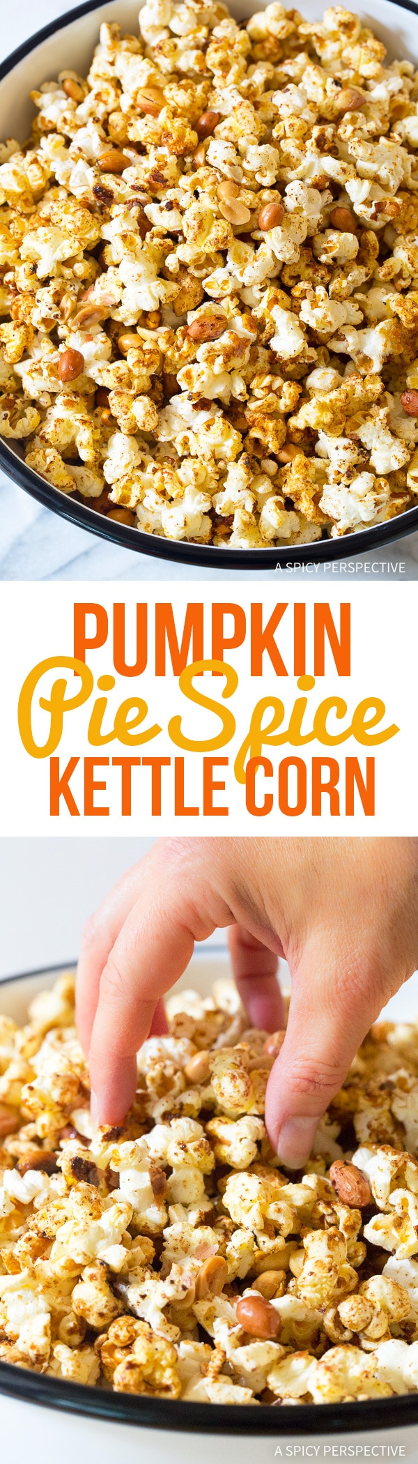 Perfect Pumpkin Pie Spice Kette Corn Recipe