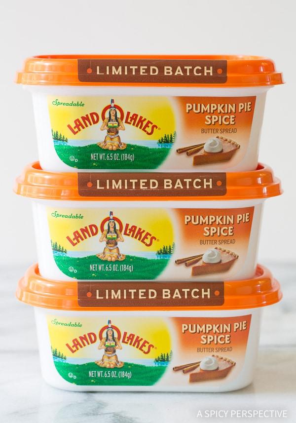 Land O'Lakes Pumpkin Pie Spice Butter Spread