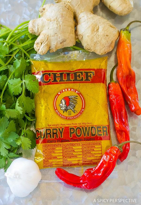 Easy Slow Cooker Potato Curry Recipe (Vegetarian!)