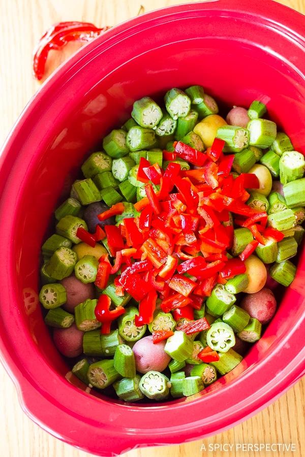 Vibrant Slow Cooker Potato Curry Recipe (Vegetarian!)