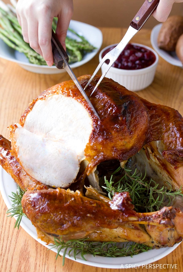 Tender Cranberry Jalapeno Honey Baked Turkey Recipe