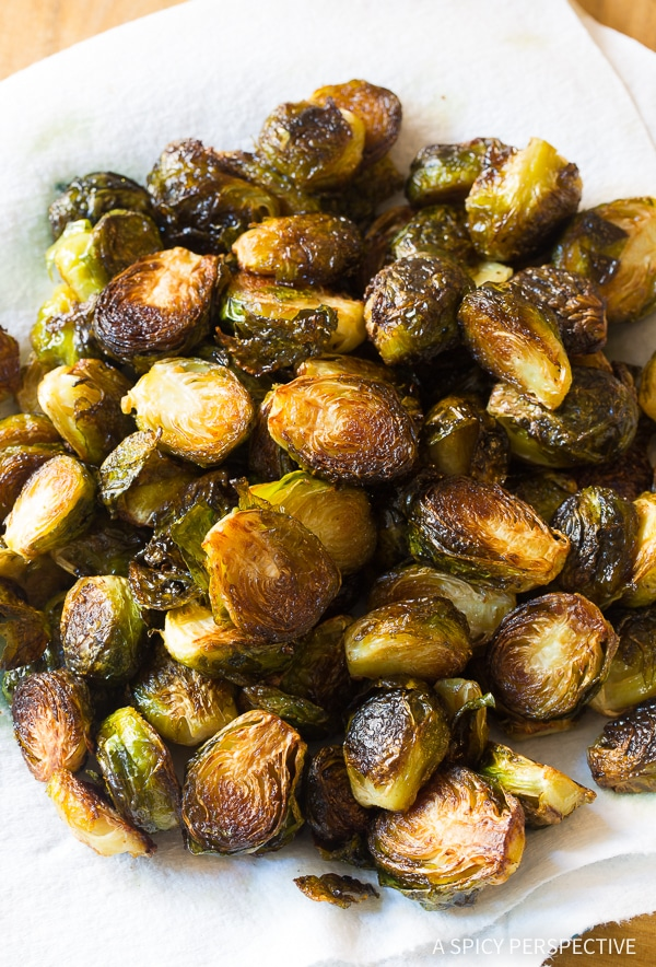 How to Make Kung Pao Roasted Brussels Sprouts