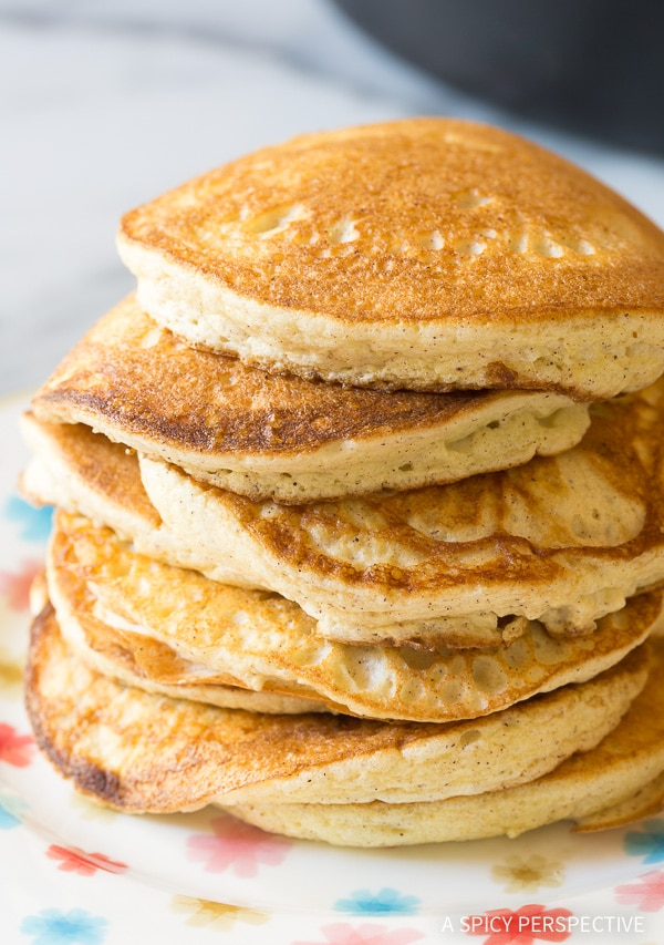 Fluffy Low Carb Cloud Bread Pancakes (Ketogenic) Recipe