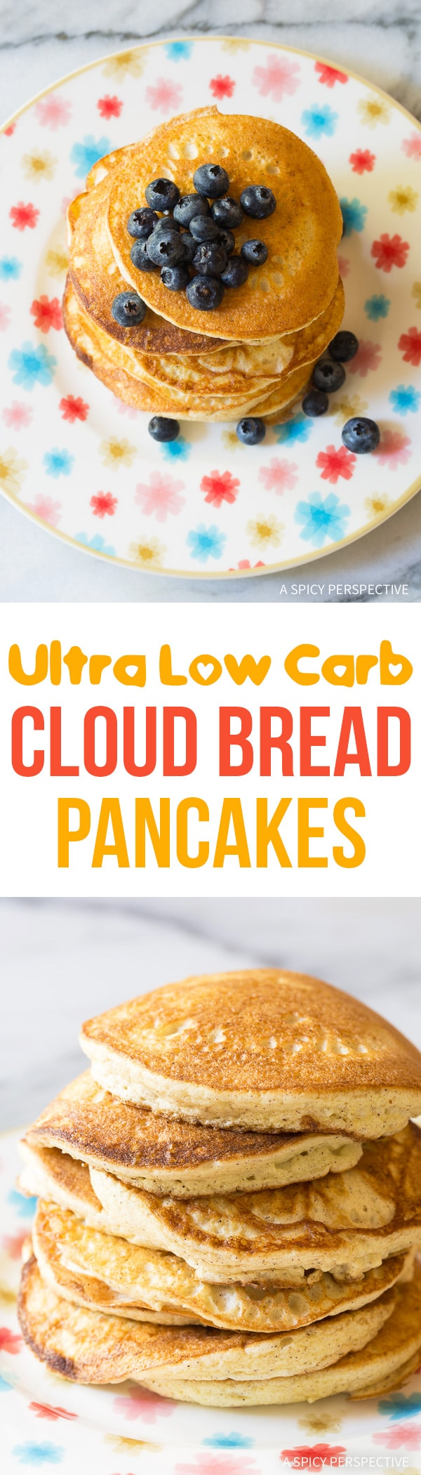 Best Low Carb Cloud Bread Pancakes (Ketogenic) Recipe