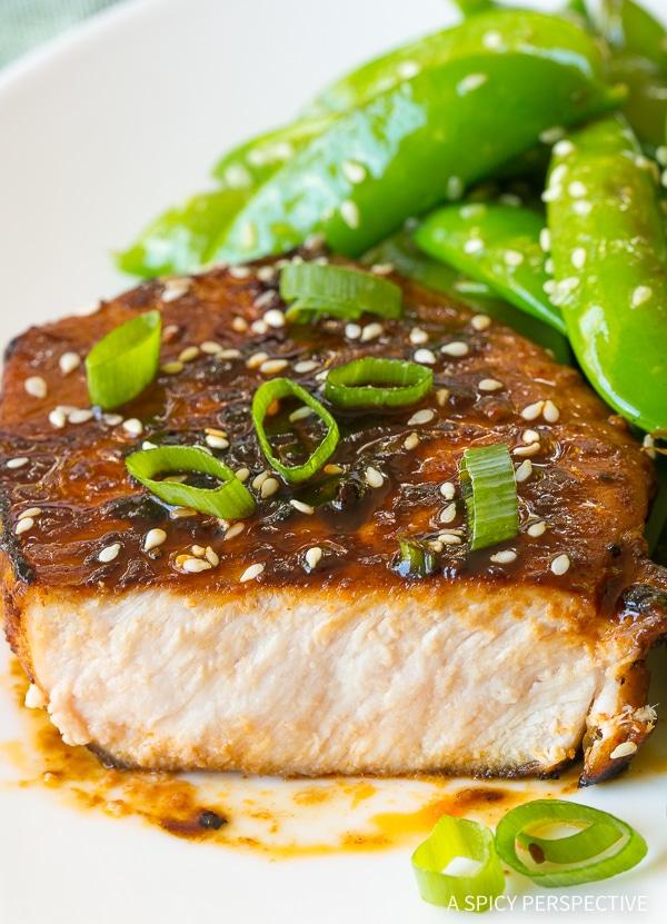 Zesty Pan Fried Korean Pork Chops Recipe