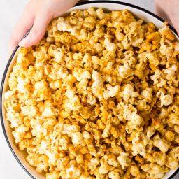 Buffalo Blue Cheese Popcorn Recipe