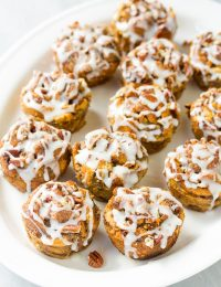 Cinnamon Roll Bread Pudding Muffins Recipe