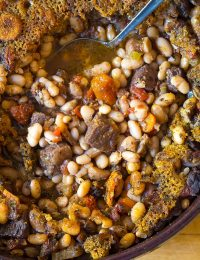Tuscan-Style Beef Cassoulet Recipe
