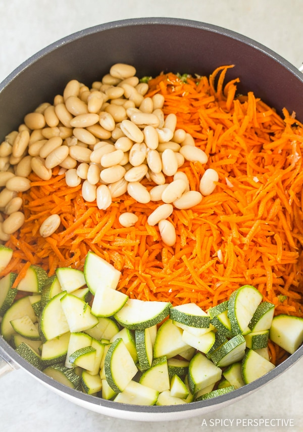 How To: Vegan Creamy Golden Vegetable Soup Recipe