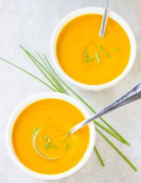 Perfect Vegan Creamy Golden Vegetable Soup Recipe