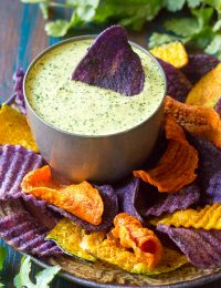 Aji Verde (Peruvian Green Sauce) Recipe