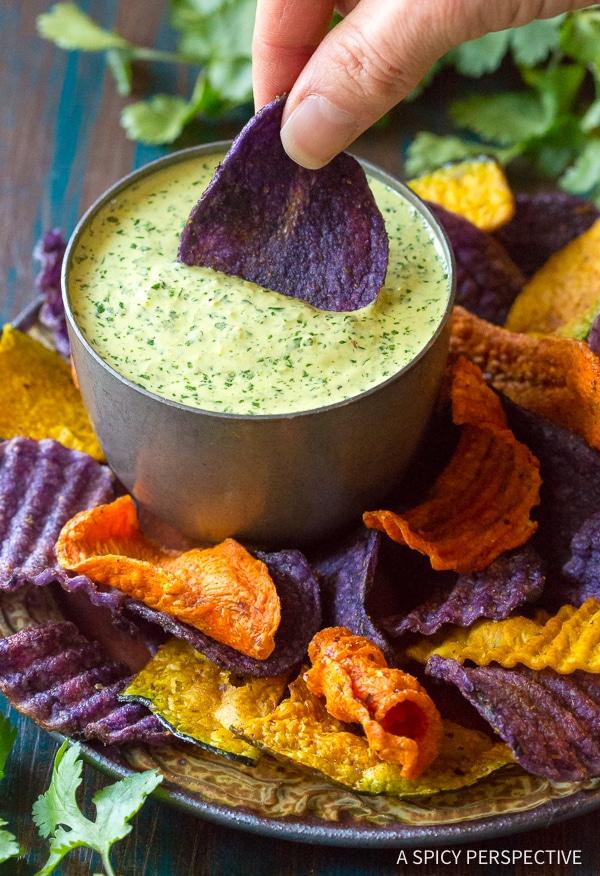 Best Aji Verde (Peruvian Green Sauce) Recipe