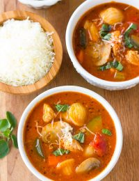 Healthy Chicken Cacciatore Soup Recipe