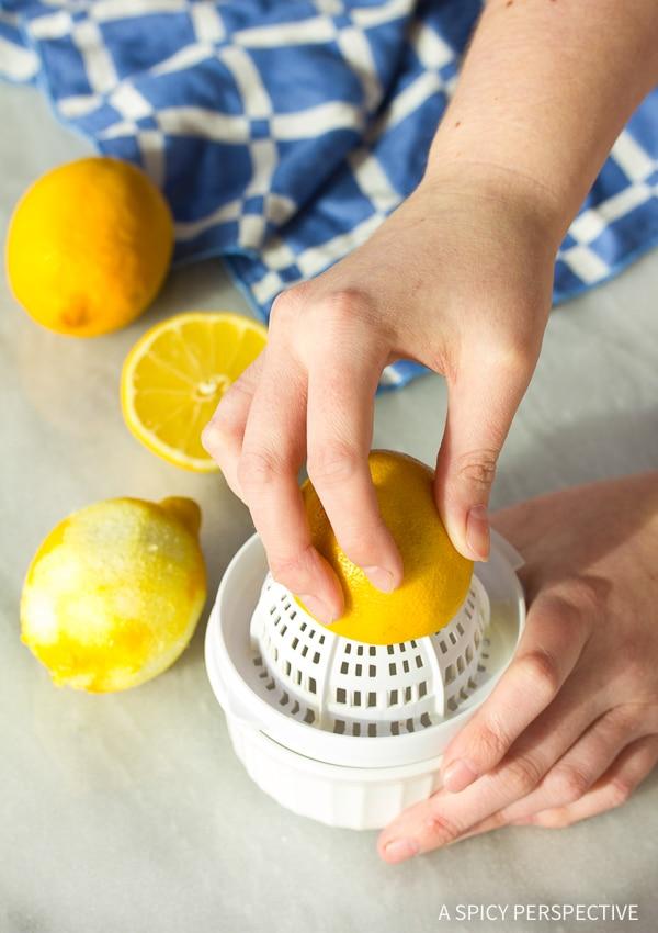 Making Homemade Lemon Curd Recipe