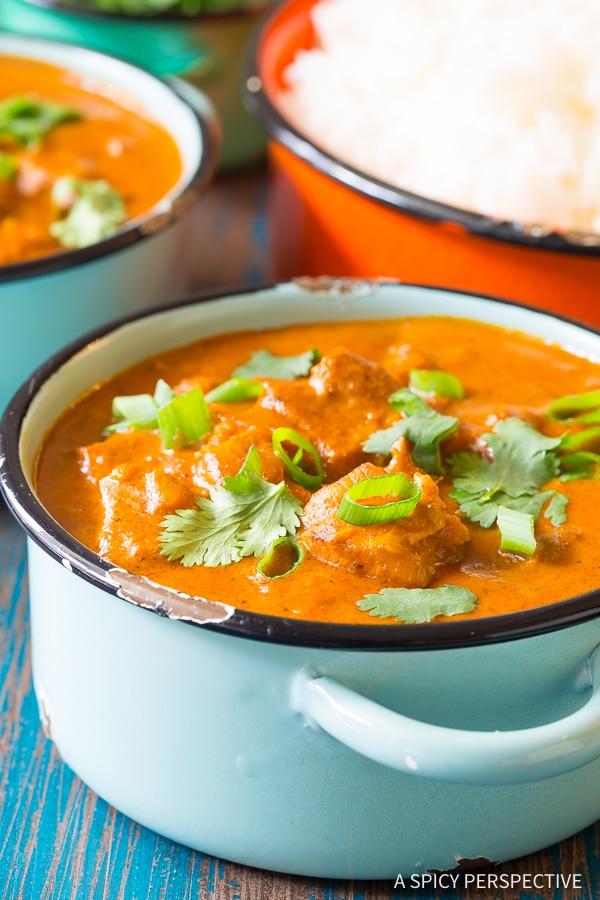 Best Instant Pot Butter Chicken Curry
