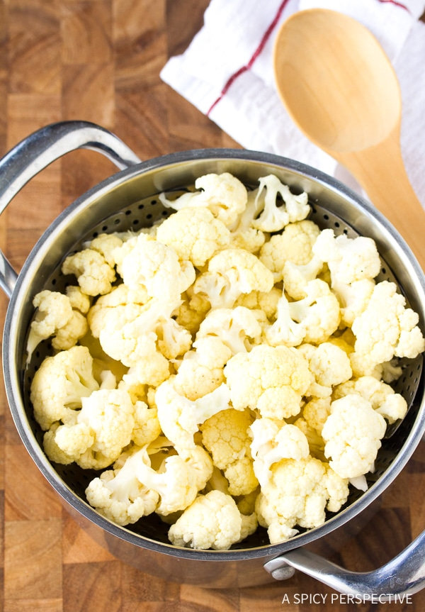 Making Low Carb Cauliflower Crackers Recipe - Gluten Free, Vegan & Paleo!