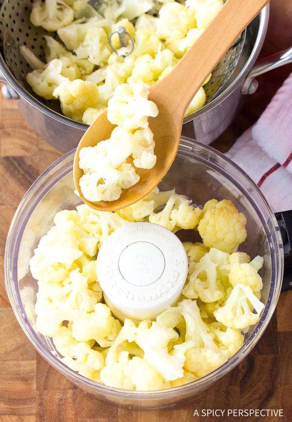 Carbs in Cauliflower #ASpicyPerspective #GlutenFree #Vegan #Paleo #GrainFree #DairyFree #SugarFree
